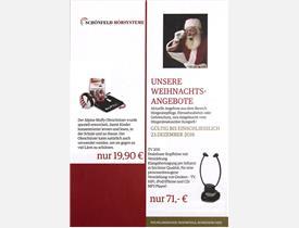 Anzeige schoenfeld-hoersysteme